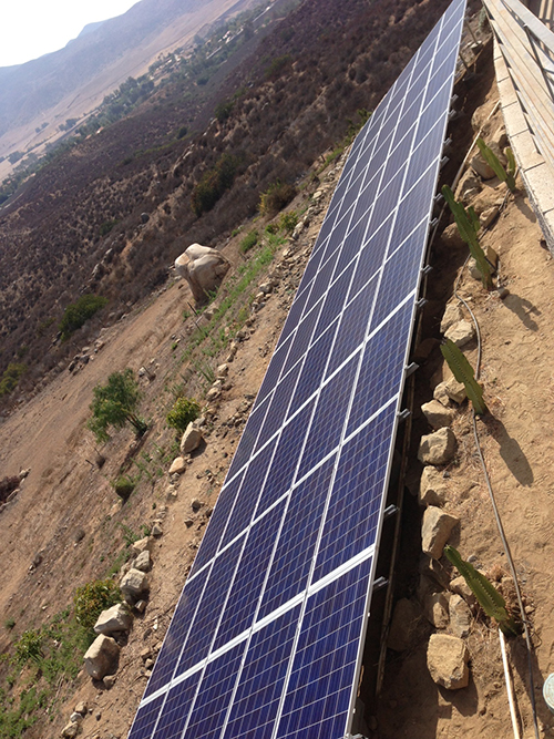 Absolutely Electric, Inc. Moody Solar Panels