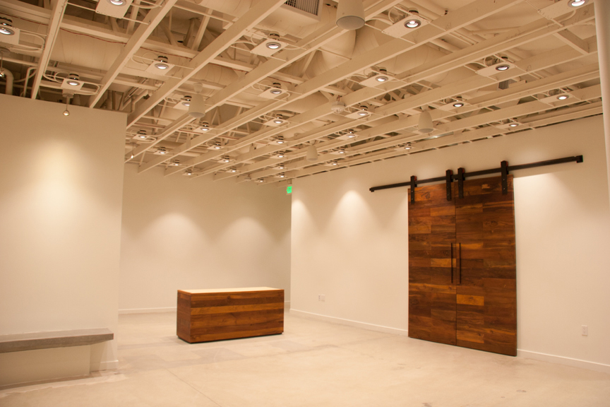 Absolutely Electric, Inc. - Lux Art Institute Education Pavilion - Custom lighting controls & custom lighting components