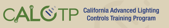 California Advanced Lighting Controls Training Program