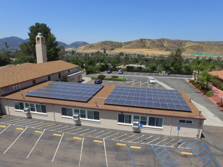 Guardian Angels Church Commercial Solar Installation
