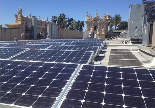 Absolutely Electric, Inc. - Balboa Park Solar Installation