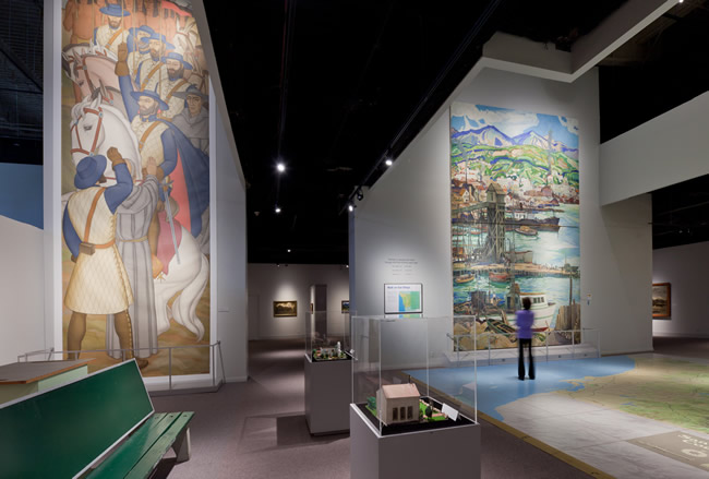 Absolutely Electric, Inc. - Museum of Photographic Arts - Energy Efficient Lighting Design and installation of LED Lights in Gallery