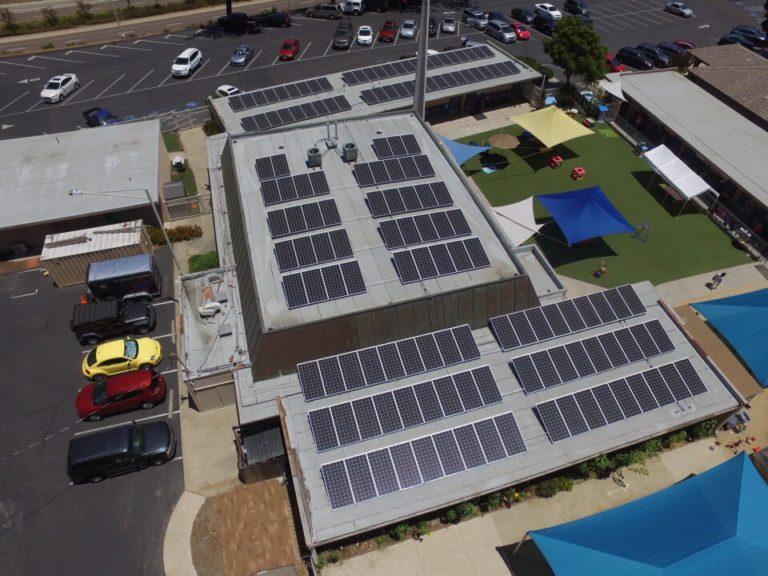 San Carlos United Methodist Church Commercial Solar Installation